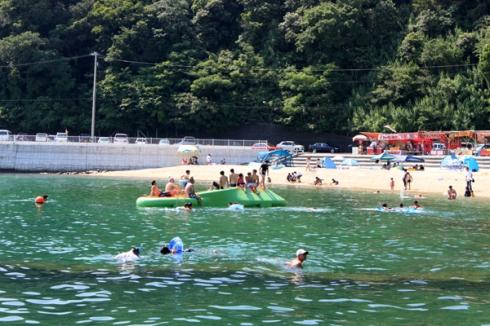 大早津海水浴場(あけはまシーサイドサンパーク)