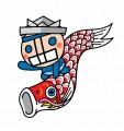 せい坊(鯉のぼりにまたがる) (606x640)